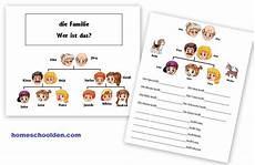 german worksheets family 19644 german family vocabulary practice die familie homeschool den