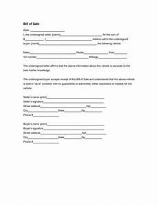 alberta vehicle bill of sale document