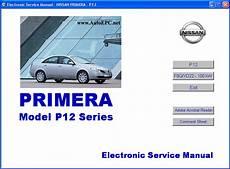 nissan primera p12 series repair manual order download