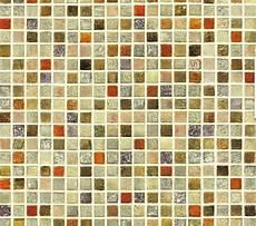 Tapeten Auf Fliesen - tapete selbstklebend mosaik fliesen bunt wandtapete