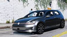 volkswagen golf gti mk7 stock add on replace tuning