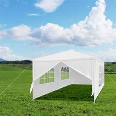 wedding party langria tent with canopy and 6 removable sidewalls and 4 windows for outdoor