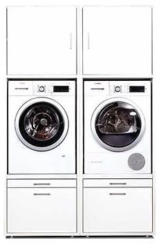 Schrank Für Waschmaschine Und Trockner Nebeneinander - waschmaschinenschrank mit erh 246 hte einbauposition ihrer