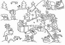 Ausmalbilder Weihnachten Tiere 20 Ausmalbilder Zu Weihnachten Erfreuen Sie Ihre Kinder