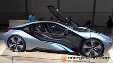 Elektroauto Bmw I8 Concept Auf Der Ami 2012