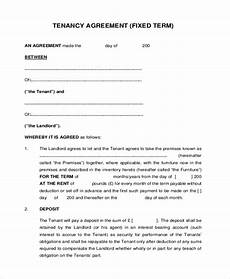 free 7 sle tenant agreement forms in sle exle