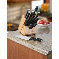 Forged Kitchen Knife Set by Kitchen Knife Set 18 Forged Cutlery Block Chefs