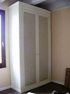 armadio tessuto armadio con ante rivestite in tessuto legno