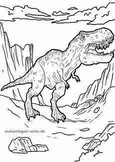 Dino Malvorlagen Kostenlos Pdf Malvorlage Tyrannosaurus Rex Dinosaurier Ausmalbilder