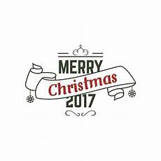 merry christmas 2017 typography wish sign vector illustration of christmas calligraphy stock