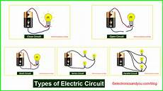 types of electric circuit electric circuit definition exles symbols
