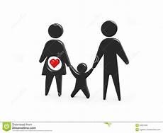 Familie Symbol - family symbol royalty free stock images image 25651959