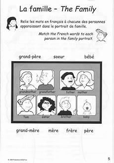 worksheets la famille 18941 family printable the family unit la famille songs for children