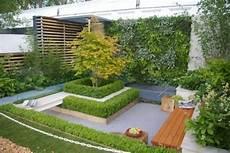 Ideen Kleinen Garten Wenig Platz Innenhof Design Deck