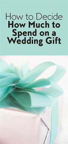 How Much For A Wedding Gift