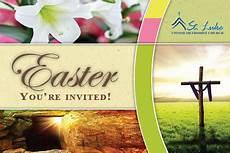 easter invitations st luke united methodist church