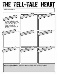 tale lesson for middle school 14997 the tell tale by edgar allan poe reading activity packet the tell tale edgar