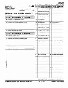 2007 form irs 1120s schedule k 1 fill online printable fillable blank pdffiller