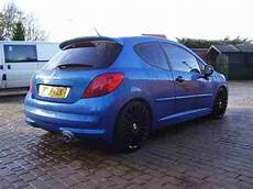 Peugeot 2008 207 Sport Xs 150 Met Blue Leather Trim