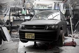 Matte Black Daihatsu L701 Cuore / Mira In Workshop