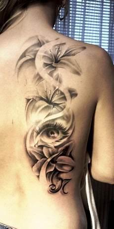 Blumen Blumen Blumen Tattoos Schulter Frau