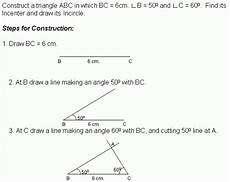 construction 4 incircle middle high school algebra geometry and statistics ags