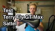 test terry fly gt gel max fahrradsattel mtb sattel test