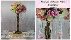 diy fairytale enchanted forest branch wedding centerpiece