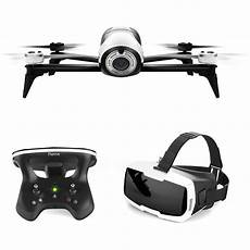 parrot bebop 2 drone with fpv bundle white pf726203 b h