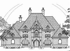 chateauesque house plans eplans chateau house plan four bedroom chateauesque