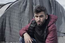 man flies to macedonia migrant c to bring of his family back to england daily mail online