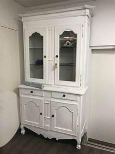 kommode vitrine buffet kommode mit vitrine vintage weiss kaufen auf ricardo