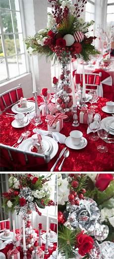 weihnachtstisch festlich dekorieren festive table decoration ideas and tutorials 2017