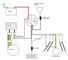 13 wire diagram for chopper need help with 72 cb750 chopper wiring page 2