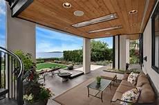 Ideen 252 Berdachte Terrasse Holz Stahl Modern Sitzecke