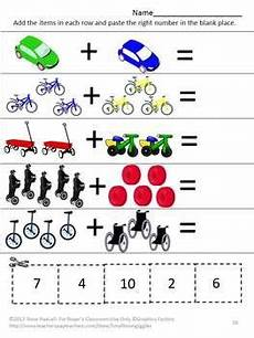 transportation math worksheets preschool 15212 pin on tpt math lessons
