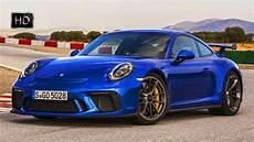 porsche 911 gt3 2018 porsche 911 gt3 sapphire blue metallic 500 hp 4 0