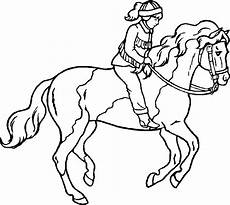 Malvorlage Pferd A4 Coloring Pages And Print For Free