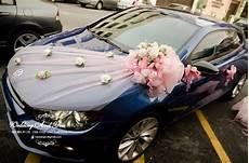 wedding car decoration car