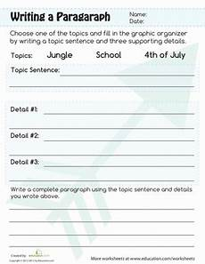writing composition practice worksheets 22776 paragraph writing worksheet education