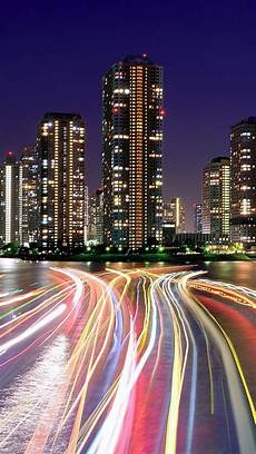 Tokyo City Iphone Wallpaper by City Lights Iphone Wallpaper Wallpapersafari