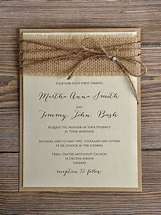 diy country style wedding invitations rustic wedding invitation 10 burlap wedding