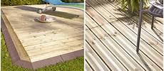 sol facile à poser installer une terrasse en bois terrasse facile et rapide