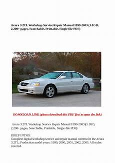 service repair manual free download 2001 acura tl parking system acura 3 2tl workshop service repair manual 1999 2003 1 1gb 2 200 pages searchable printable