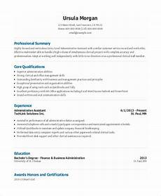 10 entry level administrative assistant resume templates free sle exle format