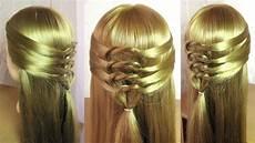 Tuto Coiffure Simple Et Rapide Cheveux Mi Coiffure