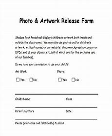 free 8 sle artwork release forms in pdf word