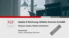 psp webinar quot update e rechnung mobiles scannen und gobd