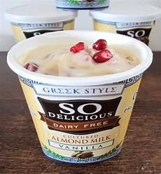 so delicious greek style vegan almond yogurt review go dairy free