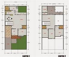 Denah Rumah Ukuran 15 X 20 Top Rumah